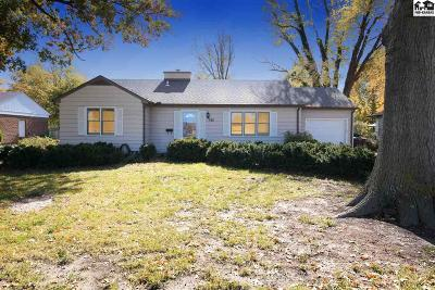 McPherson KS Single Family Home For Sale: $135,000