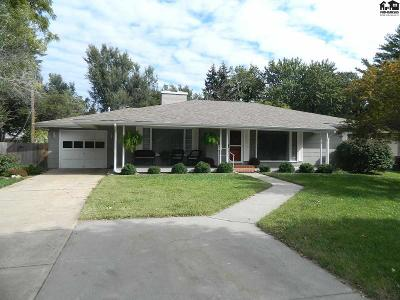 McPherson KS Single Family Home Contingent Other Co: $139,900