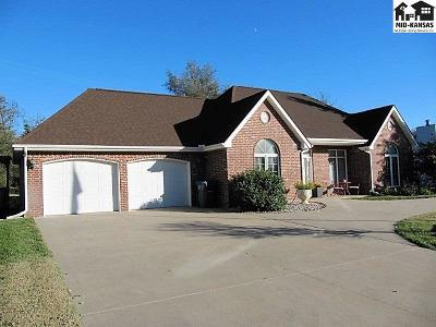 Hutchinson Single Family Home For Sale: 3222 N Lakeview Rd