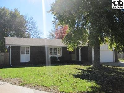 Hutchinson Single Family Home For Sale: 2504 Tyler St