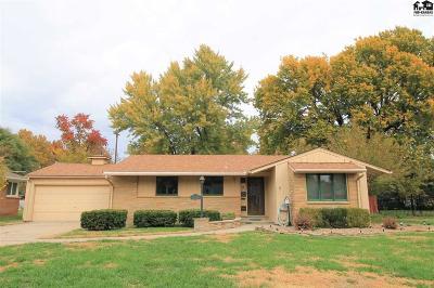 Hutchinson Single Family Home For Sale: 114 Carlton Rd
