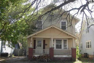 Hutchinson Single Family Home For Sale: 827 E Sherman Ave