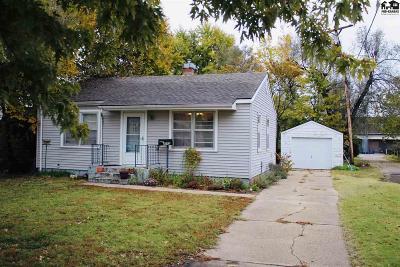 Hutchinson Single Family Home For Sale: 2512 N Washington St