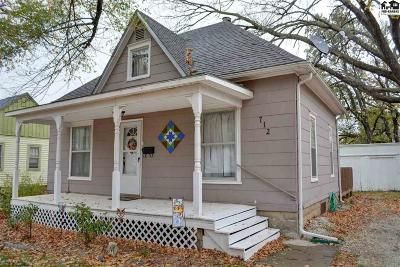 McPherson County Single Family Home For Sale: 712 N Chestnut St