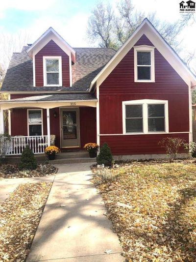 McPherson Single Family Home For Sale: 315 S Ash St