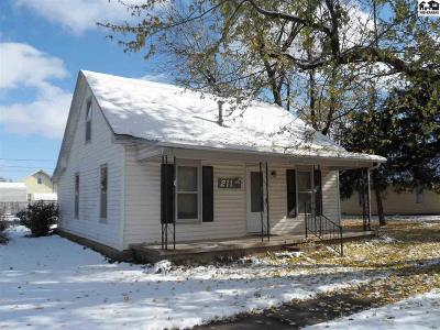 McPherson County Single Family Home For Sale: 211 N 2nd St