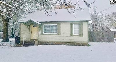 McPherson KS Single Family Home For Sale: $75,000