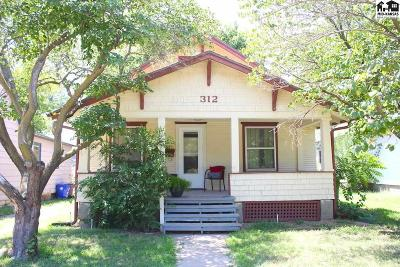 McPherson Single Family Home For Sale: 312 S Chestnut St
