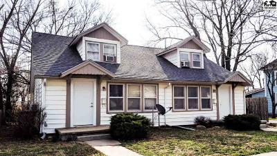 McPherson KS Multi Family Home For Sale: $125,000