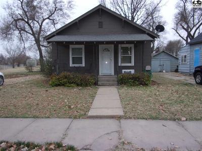 Hutchinson Single Family Home For Sale: 1209 E Avenue B