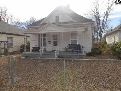 Hutchinson Single Family Home For Sale: 315 E 6th Ave