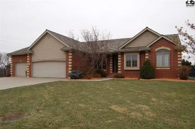 McPherson County Single Family Home For Sale: 801 Turkey Creek Dr