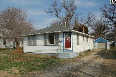 McPherson KS Single Family Home For Sale: $86,900