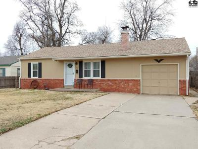 Hutchinson Single Family Home For Sale: 710 W 20th Ave