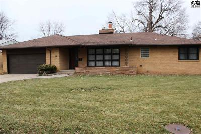 Hutchinson Single Family Home For Sale: 210 W 26th Ave