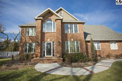 Hutchinson Single Family Home For Sale: 4200 Spyglass Dr