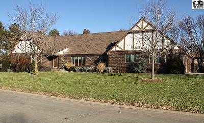 McPherson Single Family Home Contingent Other Co: 1101 Bluestem Rd