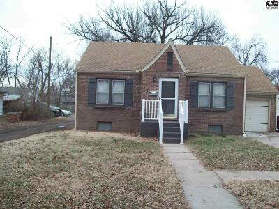 McPherson Single Family Home For Sale: 115 N Olivette St