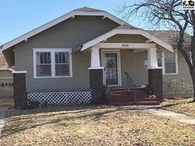 Hutchinson Single Family Home For Sale: 1904 N Main St