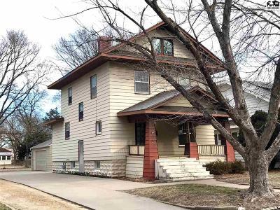 Hutchinson Single Family Home For Sale: 318 E 13th Ave