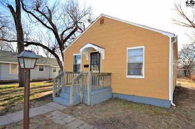 Hutchinson Single Family Home For Sale: 813 E 9th Ave
