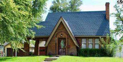 Hutchinson Single Family Home For Sale: 303 Crescent Blvd