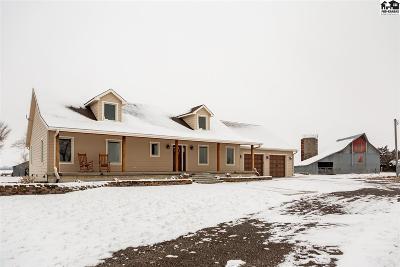McPherson County Single Family Home For Sale: 1297 Comanche Rd