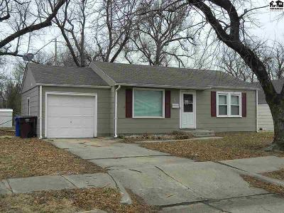 McPherson KS Single Family Home For Sale: $79,900
