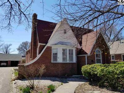McPherson KS Single Family Home For Sale: $85,000