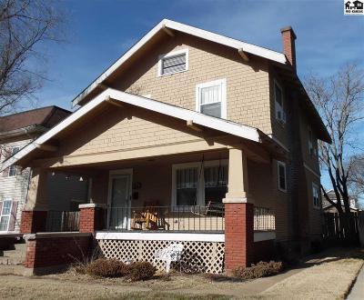 Hutchinson Single Family Home For Sale: 414 E Sherman Ave