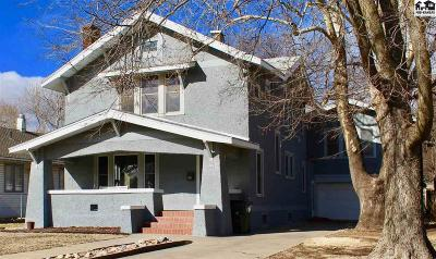 Hutchinson Single Family Home For Sale: 10 W 21st Ave