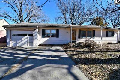 McPherson County Single Family Home For Sale: 500 S Pine St