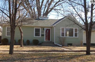McPherson KS Single Family Home For Sale: $109,000