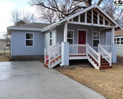 McPherson KS Single Family Home For Sale: $137,500