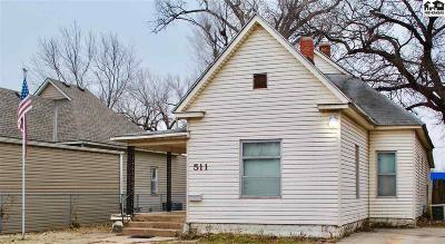 Hutchinson Single Family Home For Sale: 511 E 5th Ave