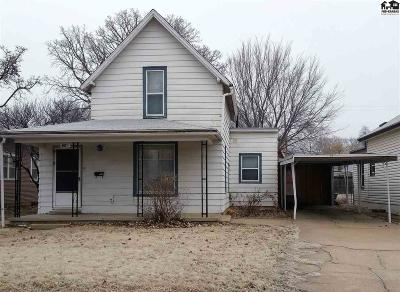 Hutchinson Single Family Home For Sale: 116 W 8th Ave