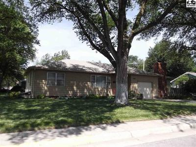Hutchinson Single Family Home For Sale: 2201 N Tyler St