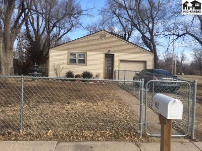 Hutchinson Single Family Home For Sale: 452 Justice St