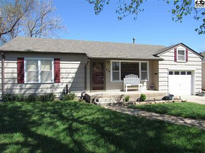 Hutchinson Single Family Home For Sale: 614 W 20th Ave