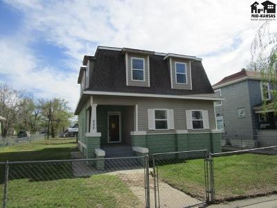 Hutchinson Single Family Home For Sale: 525 W Sherman St