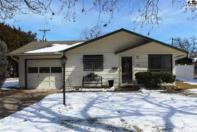 Hutchinson Single Family Home For Sale: 2302 N Adams St
