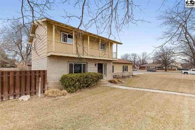Hutchinson Single Family Home For Sale: 3312 Dartmouth Rd
