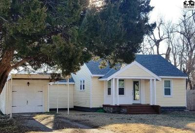 Hutchinson Single Family Home For Sale: 3416 N Walnut St