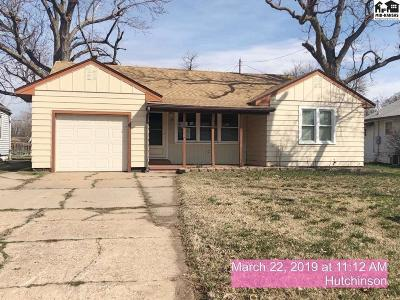 Hutchinson KS Single Family Home For Sale: $74,900