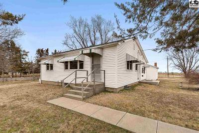 Hutchinson Single Family Home For Sale: 5508 S Broadacres Rd