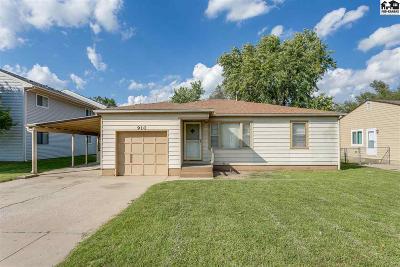 Hutchinson Single Family Home For Sale: 910 E 11th Ave