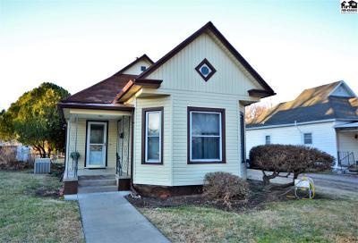 Hutchinson Single Family Home For Sale: 517 E 7th Ave