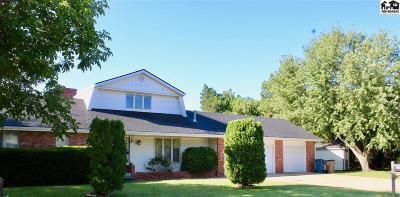 Hutchinson Single Family Home For Sale: 501 Adair Cir