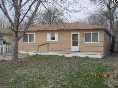 Hutchinson Single Family Home For Sale: 1604 E 9th Ave