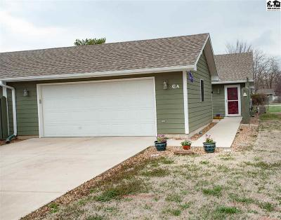 Lindsborg Condo/Townhouse For Sale: 41A Willow Lake Dr